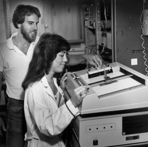 With John G. Trunk, Denise C. Monteleone, and others, John developed a two-dimensional scanner to analyze photographic negatives of ethidium bromide-stained DNA-agarose gels