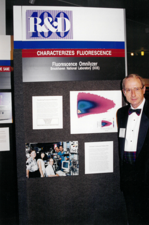 John with the 1997 R&D 100 Award