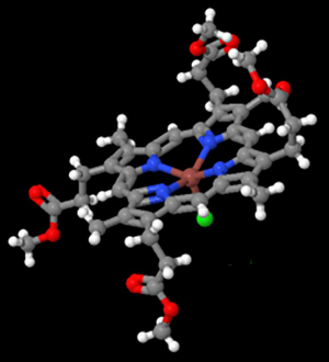 This compound is a precursor of the porphyrins with inconsistent CD spectra, which John resolved